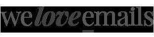 We Love E-mails Logo